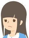 悲しむ少女