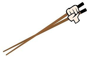 1メートル以上もある箸