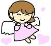 性格のいい心の天使