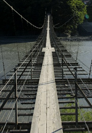最高の告白シチュエーションの吊り橋