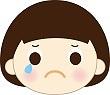 痛みで泣く人