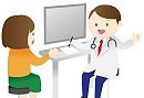 心療内科を受診する人