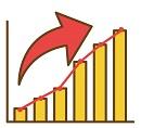 読書と仕事の効率の相関グラフ