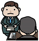 上司に効率よく伝える人