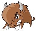 どう猛な牛