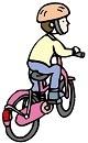 自転車の補助輪をはずしたとき