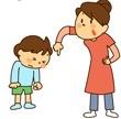 子供を無理やりしつける母親