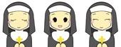 修道院で暮らすシスター
