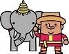 インドの象使い