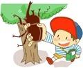 積極的に遊ぶ子供