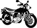 古いバイク