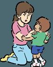 子どもを怒鳴りつける母親
