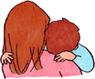 子どもの心に寄り添う母親