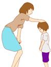 子供に愛を与える親