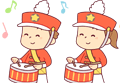 パレードの練習