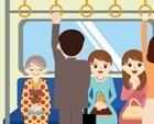 通勤途中の人たち