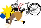 転ぶ自転車2