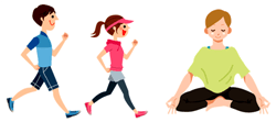 運動と瞑想