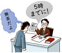 上司の指示