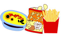 トランス脂肪酸の多い食品