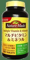 マルチビタミン&ミネラル