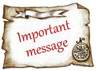 大切なメッセージ