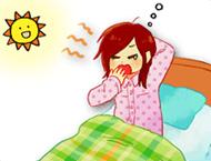 目覚めが悪い